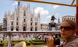 Bus turístico de Milán