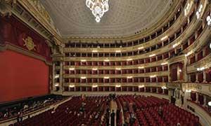 Tour a La Scala de Milán