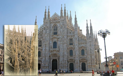 El Duomo Catedral de Milán y sus bellas terrazas